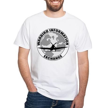 White WIX T-Shirt w B&W logo