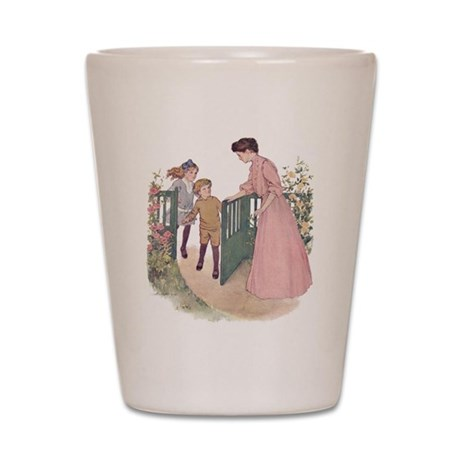 1900's Mother at the Gate Shot Glass