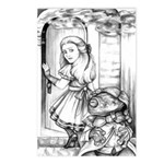 Alice & the Footman Postcards (Package of 8)