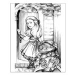 Alice & the Footman Small Poster