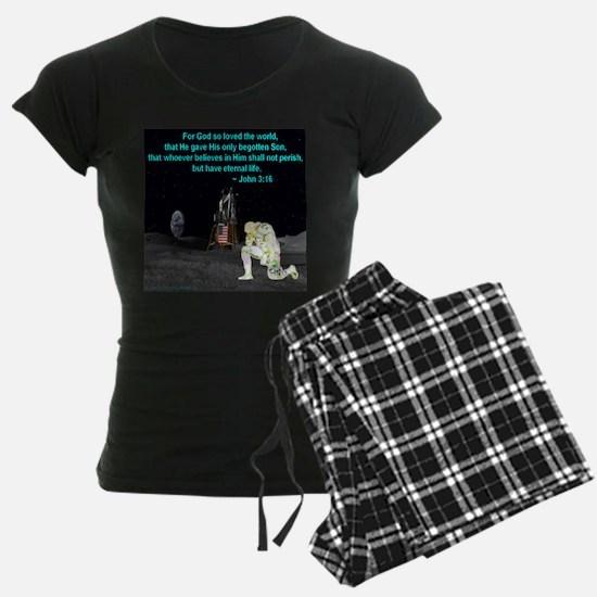 Moonbowing John 3:16 Pajamas