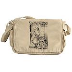 Alice & the Footman Messenger Bag