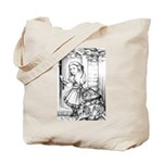 Alice & the Footman Tote Bag