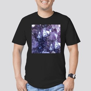 Amethyst Crystal Cluster T-Shirt