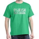 )% Irish 100% Drunk