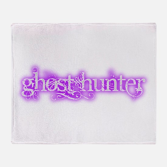 Cute Dark hunter Throw Blanket