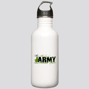 Husband Combat Boots - ARMY Stainless Water Bottle