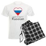 Happily Married Russian Men's Light Pajamas