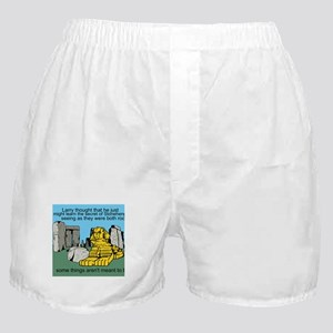 Larry at Stonehenge Boxer Shorts