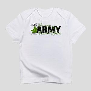 Grandson Combat Boots - ARMY Infant T-Shirt