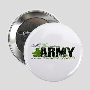 "Grandson Combat Boots - ARMY 2.25"" Button"