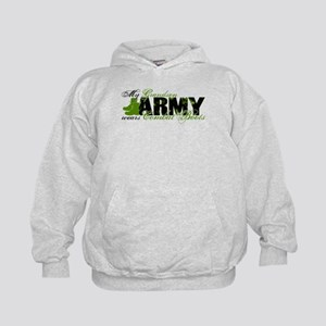 Grandson Combat Boots - ARMY Kids Hoodie