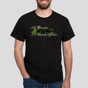 Grandson Combat Boots - ARMY Dark T-Shirt