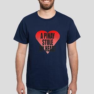 Pinay Stole My Heart Dark T-Shirt