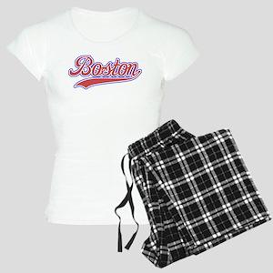 Retro Boston Women's Light Pajamas