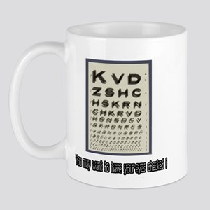 Eye Check-Up Mug
