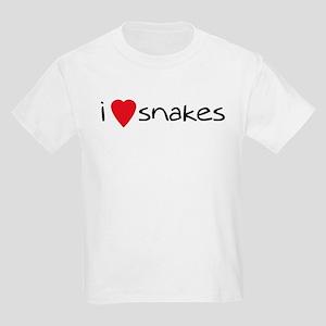 i love snakes Kids T-Shirt