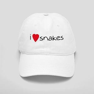i love snakes Cap