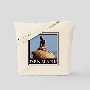 Denmark Little Mermaid Tote Bag