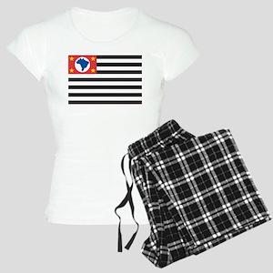 Sao Paulo Flag Women's Light Pajamas