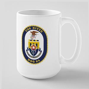 USS Nitze DDG 94 Large Mug