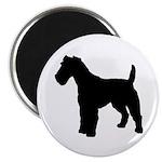 Fox Terrier Silhouette Magnet