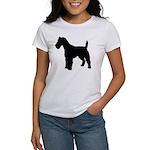 Fox Terrier Silhouette Women's T-Shirt
