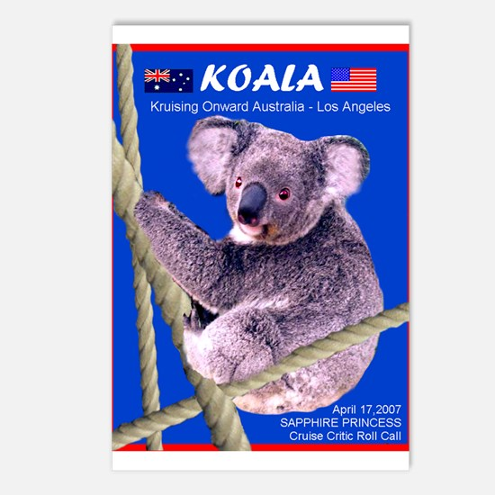 Sapphire KOALA 2007- Postcards (Package of 8)