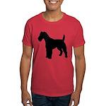 Fox Terrier Silhouette Dark T-Shirt
