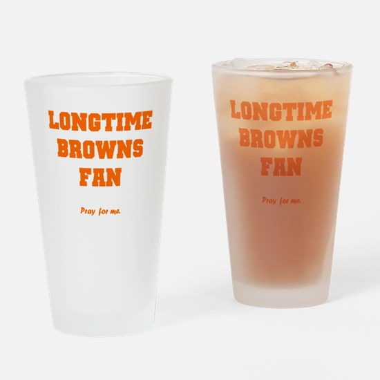 Browns Drinking Glass