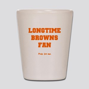 Browns Shot Glass