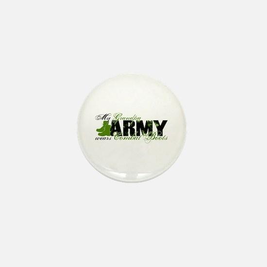 Grandpa Combat Boots - ARMY Mini Button