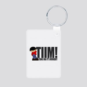 'Tang Ina It's Monday! Aluminum Photo Keychain