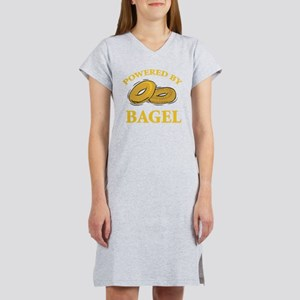 Powered By Bagel Women's Nightshirt