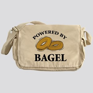 Powered By Bagel Messenger Bag