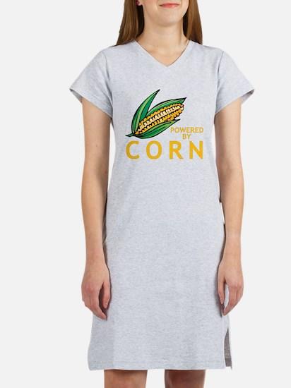 Powered By Corn Women's Nightshirt