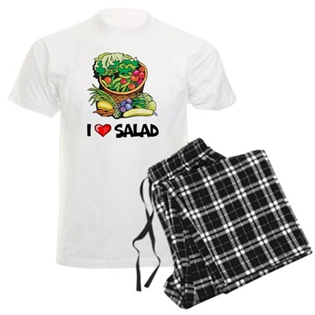 I Love Salad Men's Light Pajamas