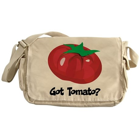 Got Tomato Messenger Bag