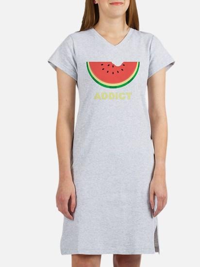 Watermelon Addict Women's Nightshirt
