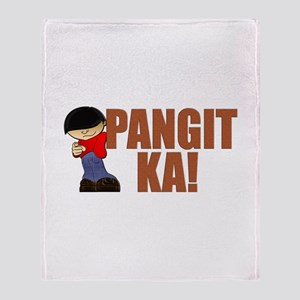 Pangit Ka! Throw Blanket