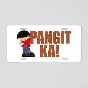 Pangit Ka! Aluminum License Plate