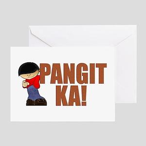 Pangit Ka! Greeting Card