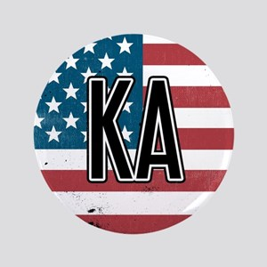 Kappa Alpha Order Flag Button