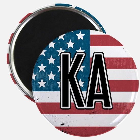 Kappa Alpha Order Flag Magnet