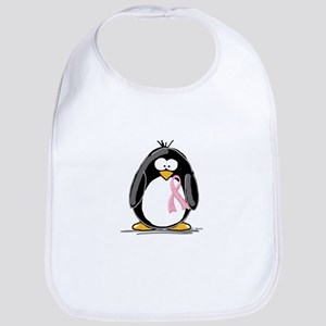 Breast Cancer penguin Bib