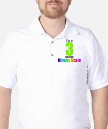 Kinsey Scale 3 Golf Shirt