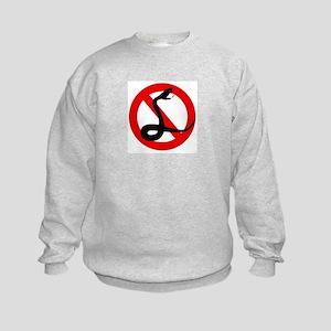 Anti Snakes Kids Sweatshirt
