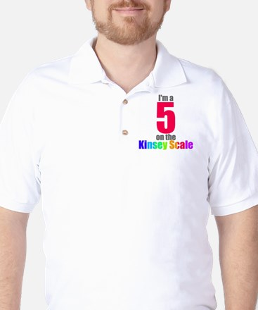 Kinsey Scale 5 Golf Shirt