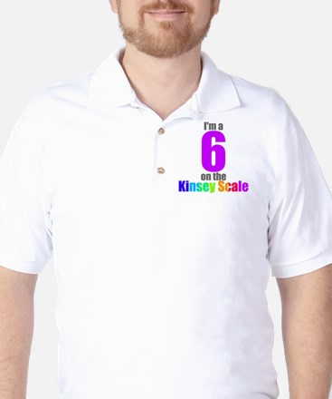 Kinsey Scale 6 Golf Shirt