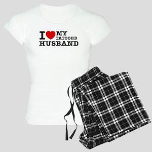 I love my Tattooed Husband Women's Light Pajamas